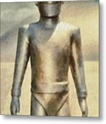 Gort From The Day The Earth Stood Still Metal Print