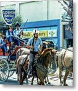 Goshen Parade 1980-3 Metal Print