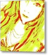 Goshikku Gyaru Metal Print