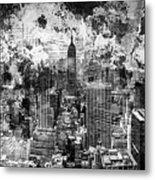 Gotham Castles Metal Print