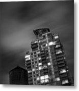 Gotham Rooftop Metal Print