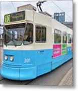 Gothenburg City Tram Metal Print