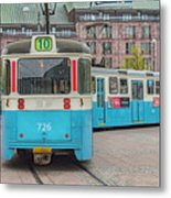 Gothenburg Public Tram Metal Print