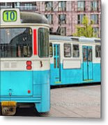 Gothenburg Public Tramcar Metal Print