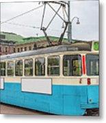 Gothenburg Tram Car Metal Print