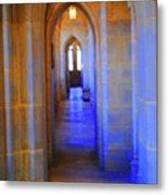 Gothic Arch Hall Metal Print