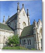 Gothic Chapel, Indianapolis, Indiana Metal Print