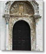 Gothic Entrance Metal Print