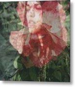 Gothic Flower Metal Print