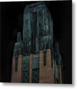 Gothic Night. Architecture Of Los Angeles Metal Print