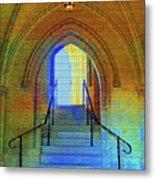 Gothic Steps Metal Print