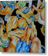 Gourds Galore Metal Print