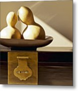 Gourds Still Life II Metal Print