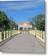 Governor Mansion In Battambang Cambodia Metal Print