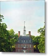 Governor Palace - Williamsburg Metal Print