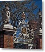 Governor's Palace Gate Detail Metal Print