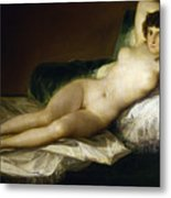 Goya: Nude Maja, C1797 Metal Print