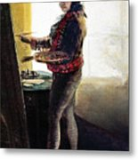 Goya: Self-portrait Metal Print