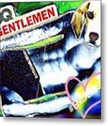 Gq Gentle Dog Metal Print
