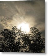 Grabing The Sun Metal Print