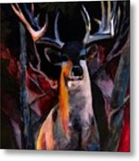 Grace Beauty And Wildness Metal Print