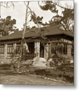 Grace H Dodge Chapel Auditorium Asilomar Circa 1925 Metal Print