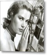 Grace Kelly, 1954 Metal Print by Everett