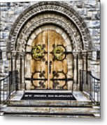 Grace - St Ann Church Metal Print
