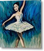 Graceful Dance Metal Print