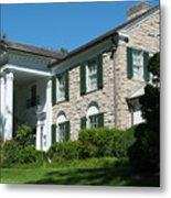 Graceland Home Of Elvis Presley, Memphis, Tennesseen Metal Print