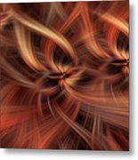 Graciousness. Mystery Of Colors Metal Print