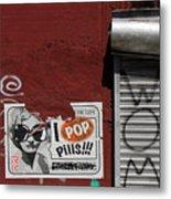 Graffiti 1 Metal Print