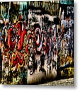 Graffiti 3 Metal Print