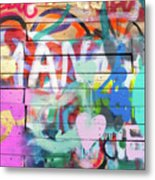 Graffiti 4 Metal Print