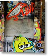 Graffiti 5 Metal Print