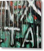 Graffiti Abstract 1 Metal Print