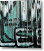 Graffiti Abstract 2 Metal Print
