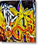 Graffiti Alley I Metal Print