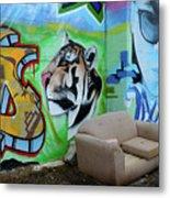 Graffiti Art Albuquerque New Mexico 7 Metal Print