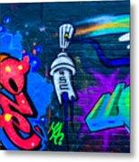 Graffiti Art Nyc 14 Metal Print