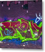 Graffiti Art Nyc 2 Metal Print