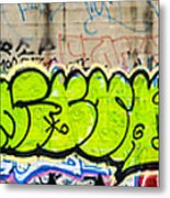 Graffiti Art Nyc 3 Metal Print
