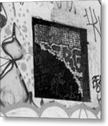 Graffiti At Fountain Grove Winery Metal Print