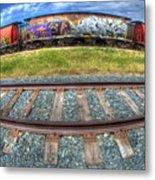 Graffiti Genius 2 Metal Print