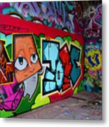 Graffiti London Style Metal Print