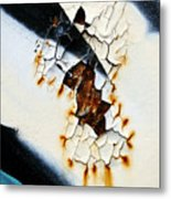 Graffiti Texture II Metal Print