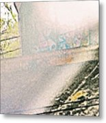 Graffiti Under The Bridge Metal Print