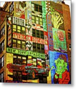 Graffitti On New York City Building Metal Print