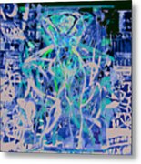 Grafiti Dance Metal Print