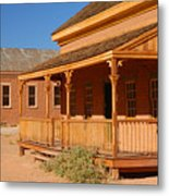 Grafton Ghost Town Metal Print